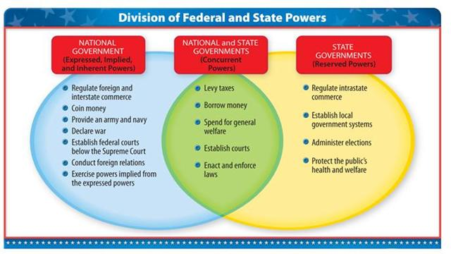government politics american federalism section page