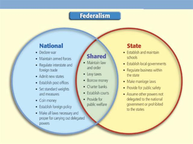 State and federal powers essay examples